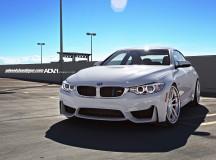 Alpine White F82 BMW M4 Sits on ADV.1 Wheels, Installation by Wheels Boutique