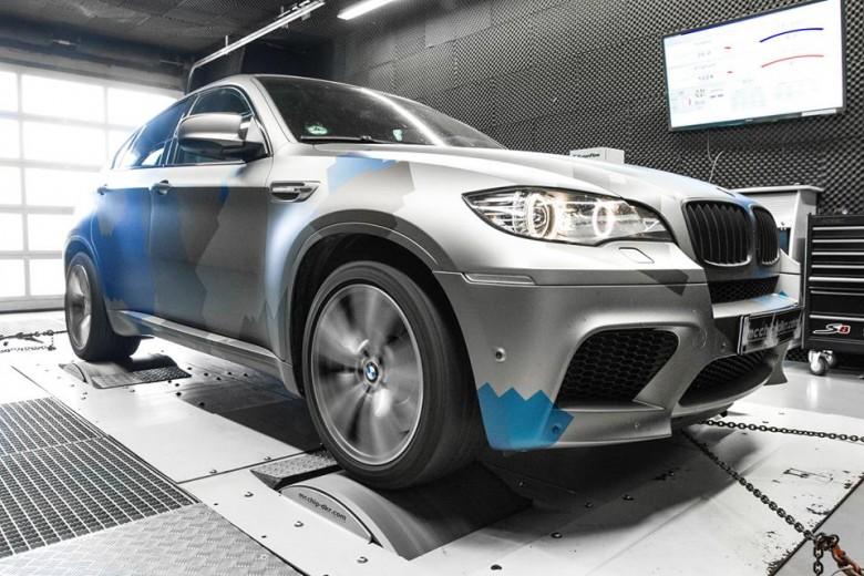 BMW X6 M Power Upgrade by Mcchip-DKR