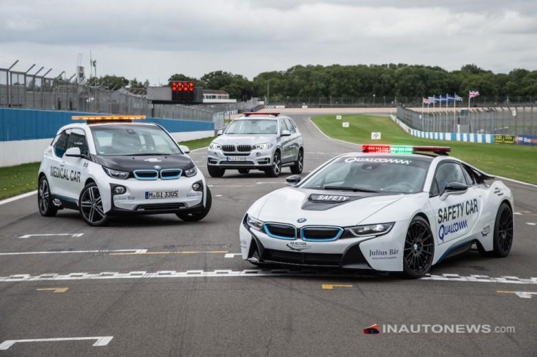 BMW Fleet Will Represent the 2015/2016 FIA Formula E Championship