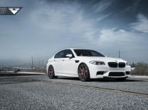 F10 BMW M5 on Vorsteiner V-FF 103 Wheels