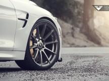 F82 BMW M4 on Vorsteiner V-FF 102 Wheels