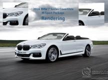 2016 BMW 7 Series Convertible M Sport Package Rendering