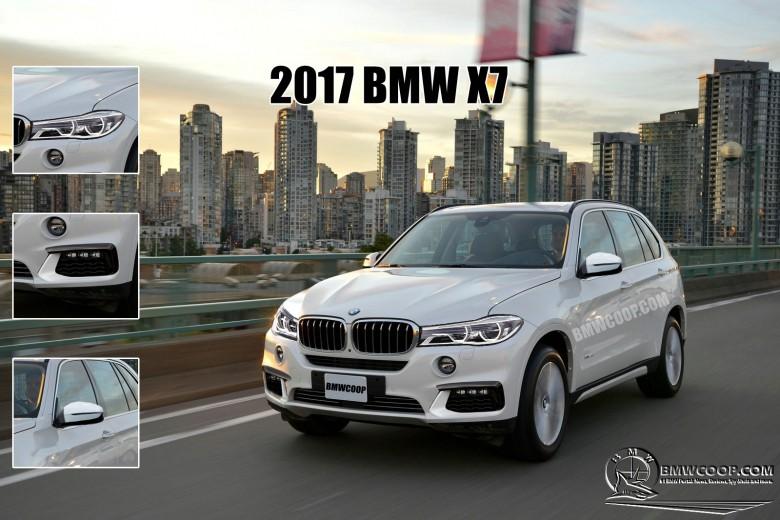 Exclusive 2017 Bmw X7 Rendered