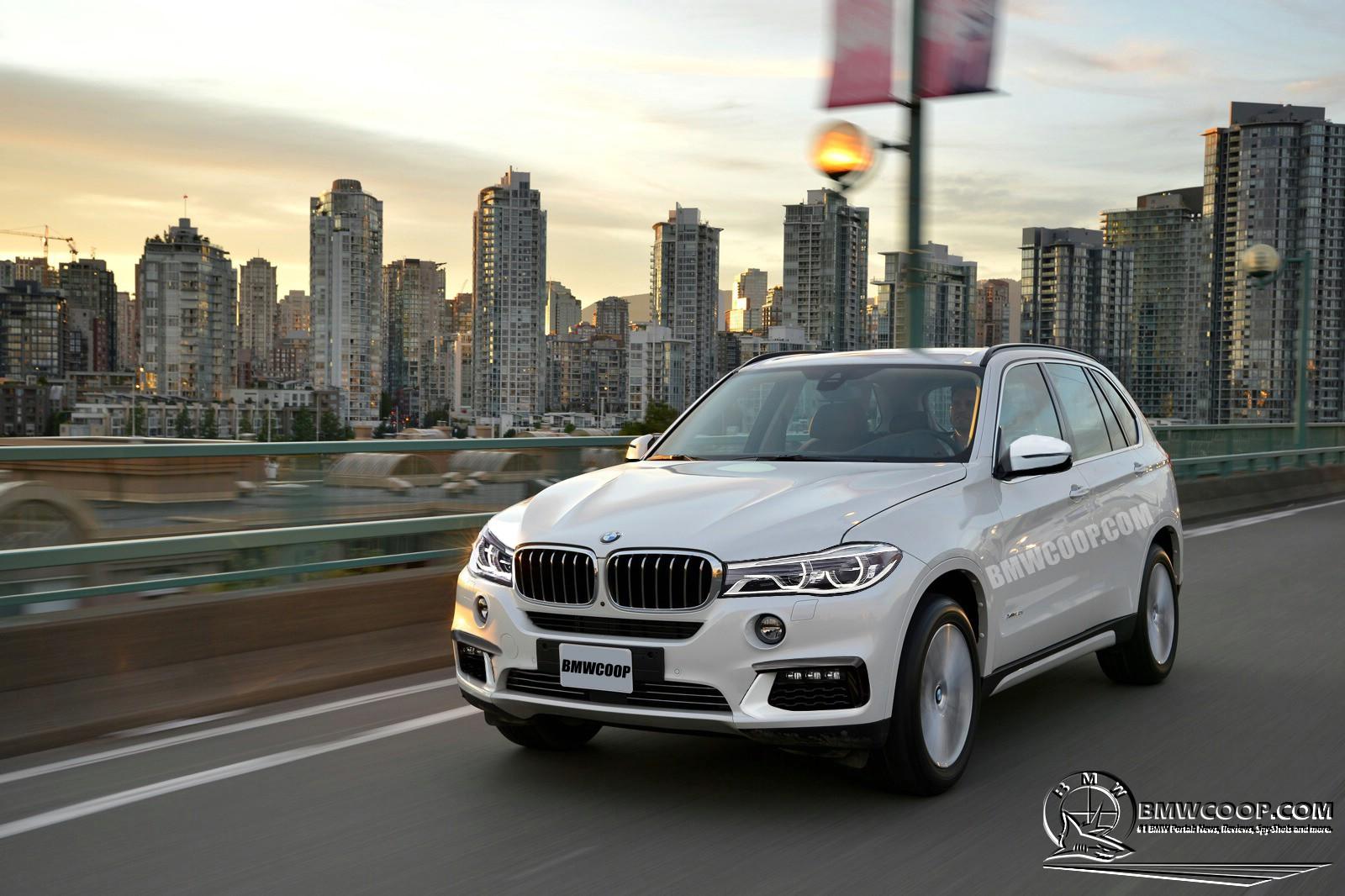 Exclusive 2017 BMW X7 Rendered  BMWCoop