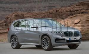 2018 BMW X7 Rendering