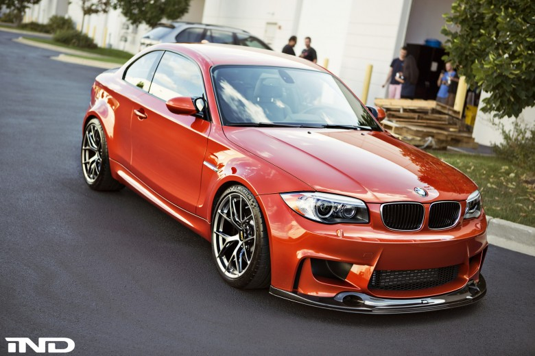 BMW 1M Sits on BBS FI-R Wheels, Installation by iND Distribution