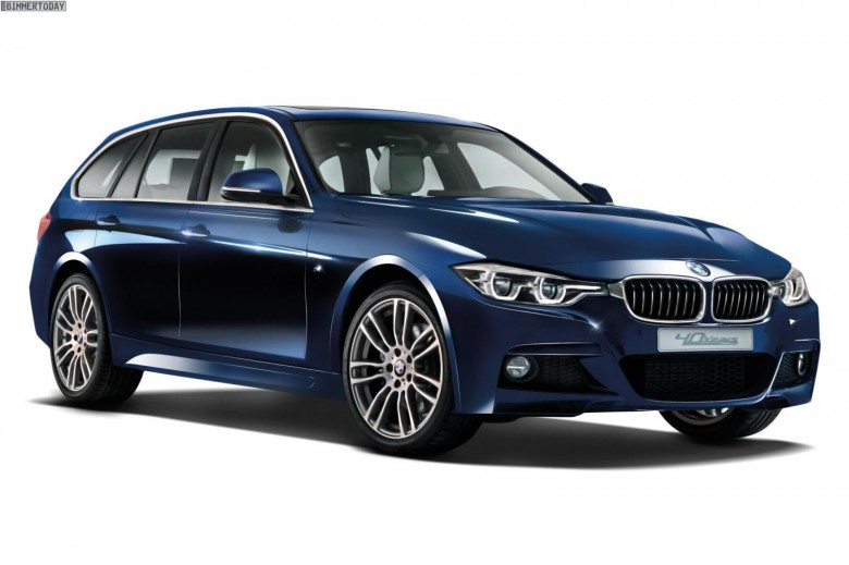 Bmw 320d Xdrive Touring 40 Years Edition Is Out Of The Box Bmwcoop
