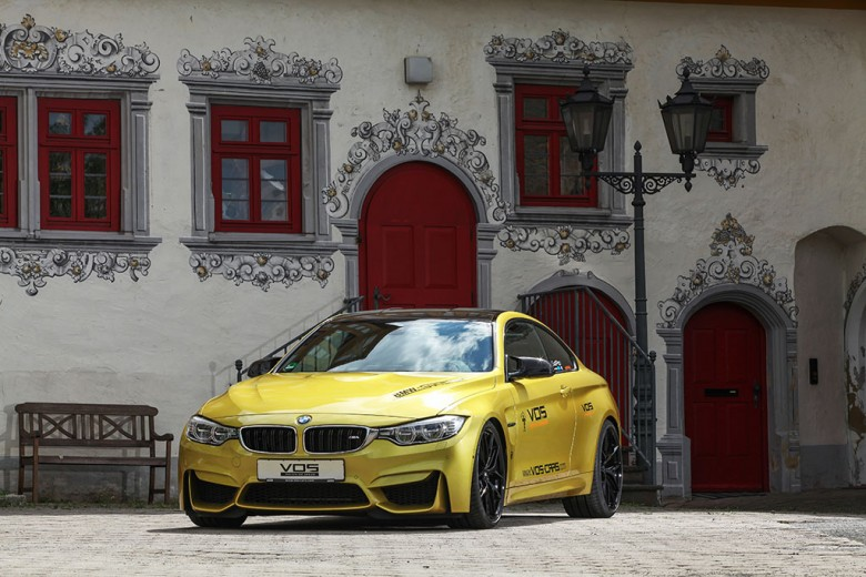 BMW M4 Receives Power Upgrade from VOS, Prices Unveiled