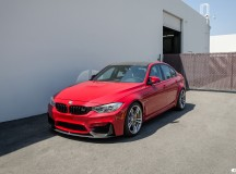 F80 BMW M3 by Auto European Source Wears Modded Imola Red Finish