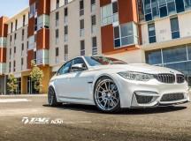 F80 BMW M3 Sits on ADV1 Wheels, Installation by TAG Motorsports