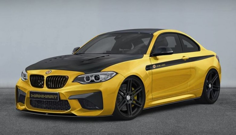 """2016 BMW M2 Coupe """"MH2 450"""" Kit by Manhart"""