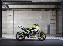 One-Cylinder BMW Concept Stunt G 310 Unveiled at the Salao Duas Rodas Motorcycle Show, Sao Paulo