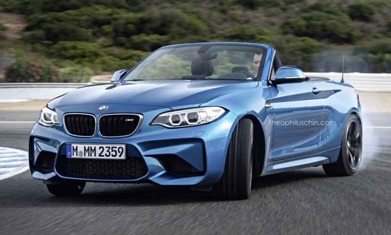 Bmw M2 Convertible Rendered Online Might Be Released In 2017