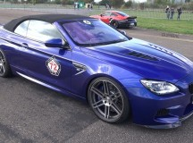 BMW M6 Convertible by Manhart Goes Wild in Video