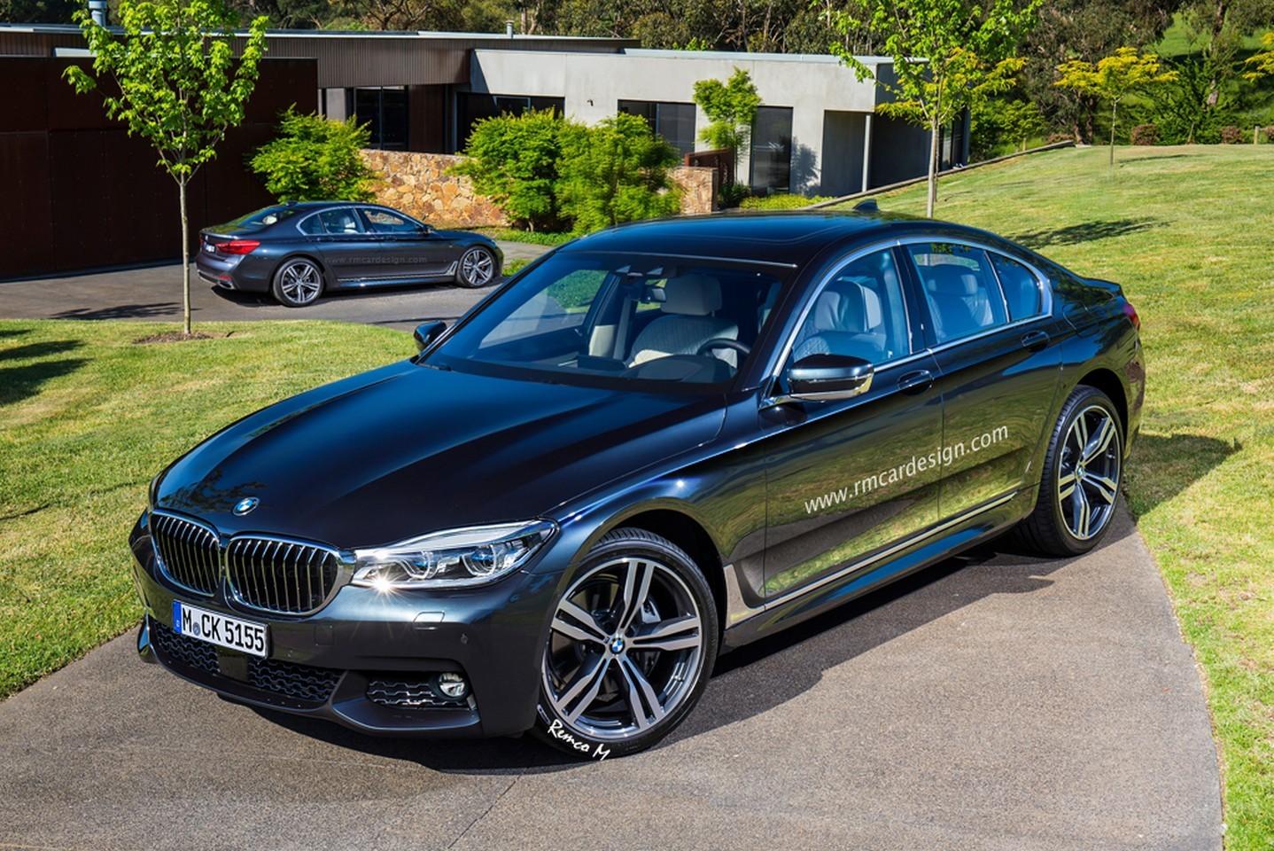 2016 BMW 5 Series Sedan Rendered Online | BMWCoop
