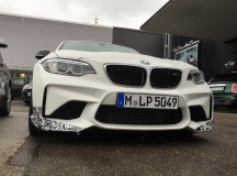 2016 BMW M2 with New M Performance Parts Caught on Shots