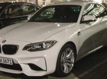 Alpine White 2016 BMW M2 Spotted in Car Park