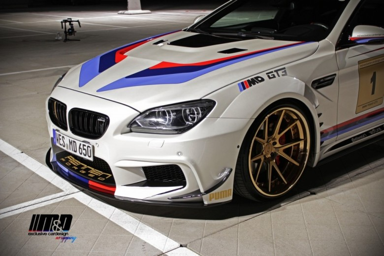 BMW 650i with GT3 Treatment by Prior Design and M&D