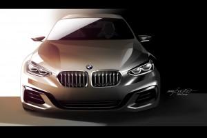 BMW Compact Sedan Concept  (5)