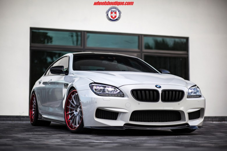 BMW M6 Gran Coupe Sits on HRE Wheels