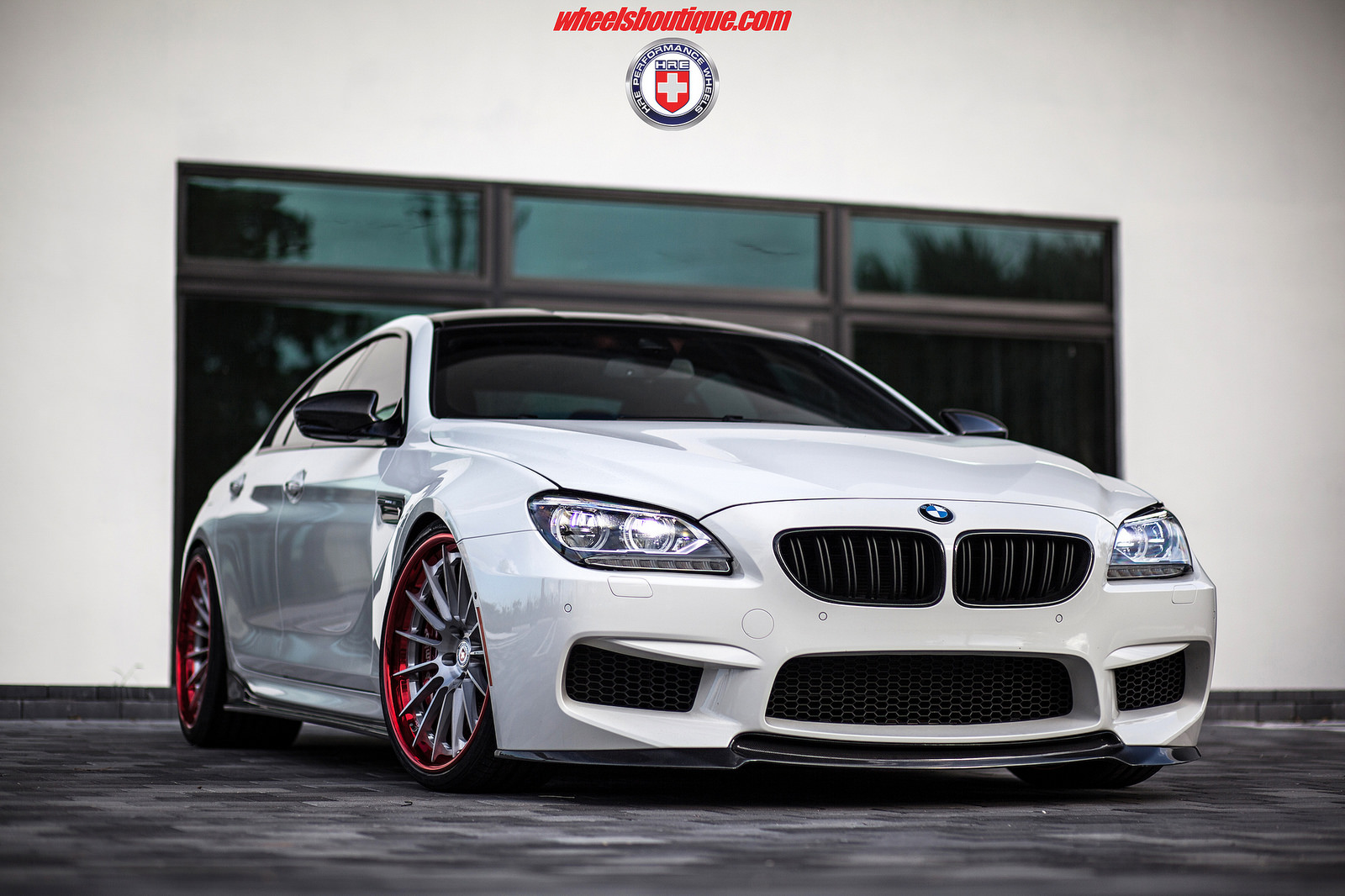 Bmw M6 Gran Coupe Sits On Hre Wheels Bmwcoop