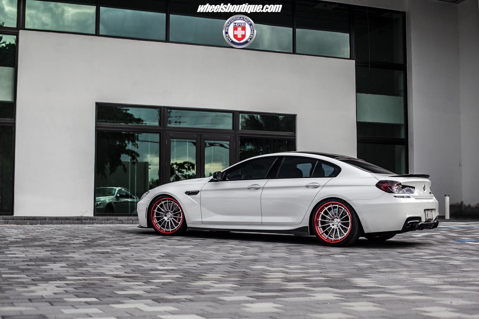 Bmw M6 Gran Coupe Sits On Hre Wheels Bmwcoop