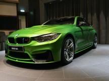 Java Green F82 BMW M4 Displayed at BMW Abu Dhabi