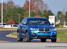 Long Beach Blue BMW X4 M40i First Photos Revealed
