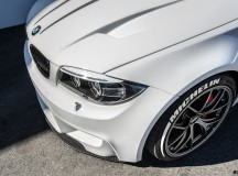 Alpine White BMW 1M by EAS