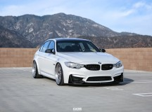 Alpine White F80 BMW M3 Pops-up in Photo Session