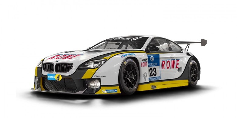 ROWE Racing Team Is Proud to Have the New BMW M6 GT3