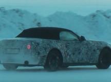 2017 BMW Z5 Roadster Spy Video Reveals Snow Test