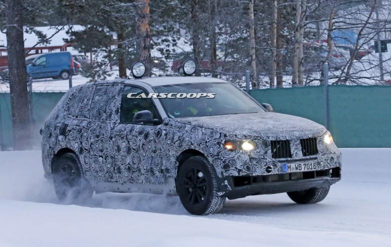 2018 BMW X5 Caught on Shots