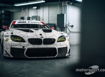 BMW M6 GTLM with 100th Anniversary Livers by BMW Team RLL