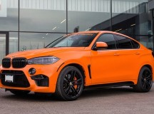 BMW X6 M Gets Orange Crush from Pfaff