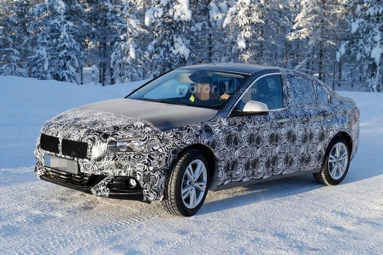 2017 BMW 1-Series Sedan Spied Once More