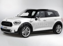2017 MINI Countryman Launched in Rendering, Might Preview the Future Production Model