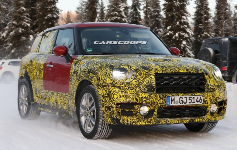 2017 MINI Countryman Slight Camo Reveals Final Version