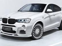 BMW X4 Body Style Tweaks by Hamann