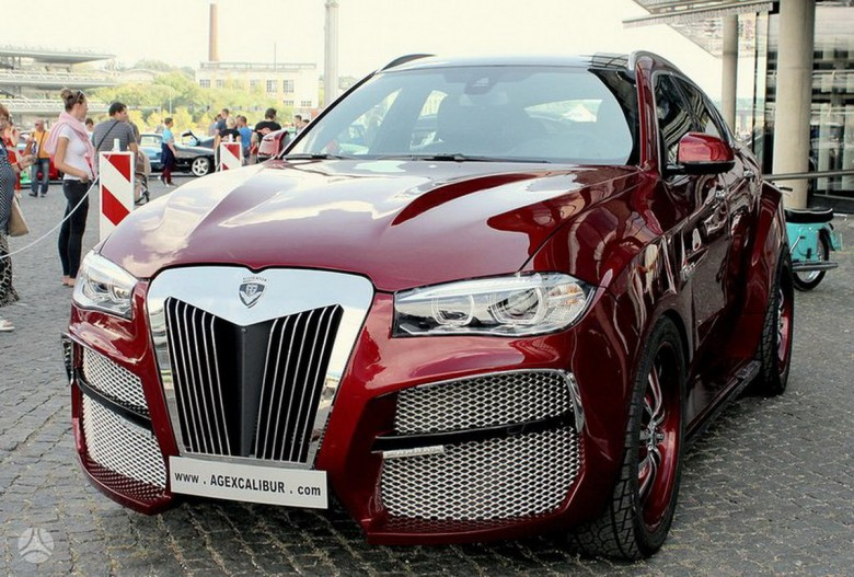 Is This BMW X6 AG Alligator Your Real Love Affair?