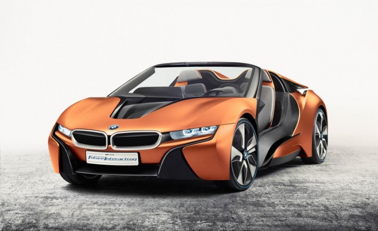 BMW i8 Spyder I15 Reportedly Coming in 2017