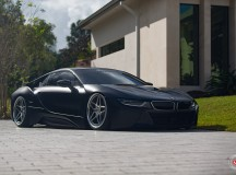 Video: BMW i8 Insane Bagging Treatment from Vossen Wheels
