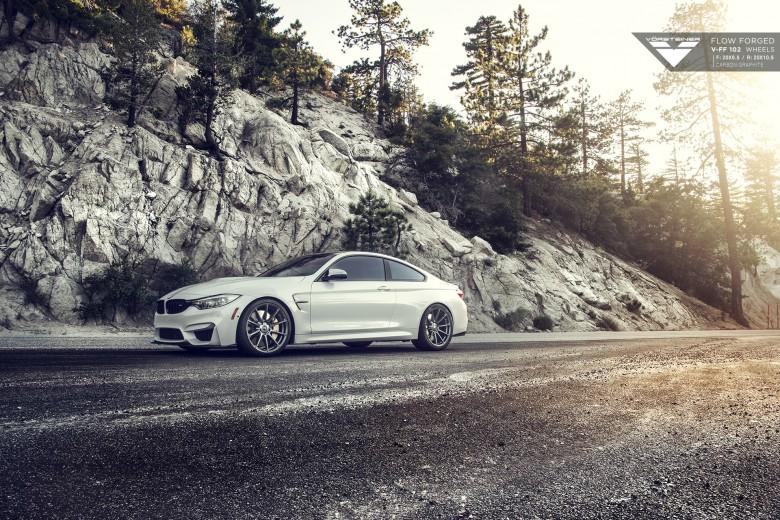 Video: F82 BMW M4 with Vorsteiner Kit