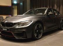 Mineral Grey BMW M3 Displayed at BMW Abu Dhabi  (1)