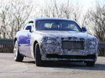 Rolls-Royce Wraith Coupe Facelift Spied during Tests