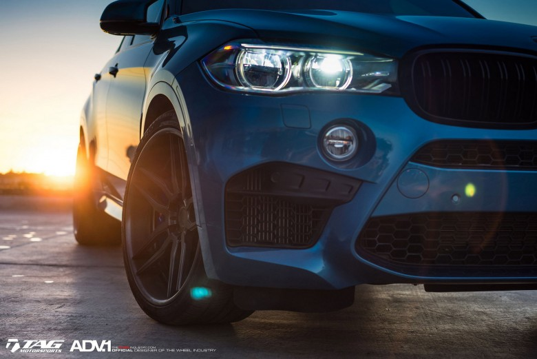 BMW X6 M Looks Almighty on ADV.1 Wheels