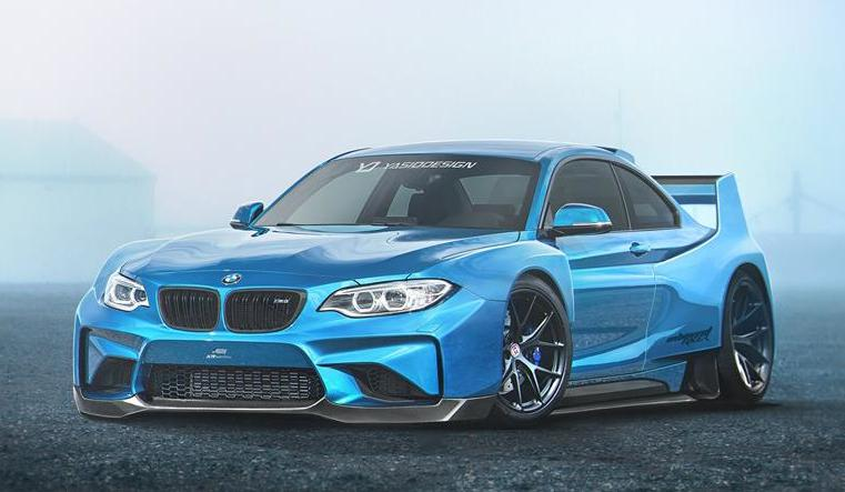 2017 BMW M2 CSL – New Rendering Released