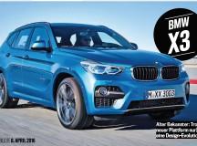 2017 G01 BMW X3 Showcased in New Rendering