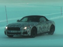 2018 BMW Z5 Caught on Video Out in the Snow