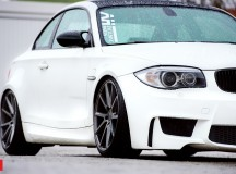 BMW 1M on Vossen Wheels Is a Real Blast from the Past